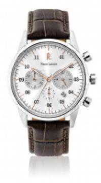 Ceas Pierre Lannier Watches Mod clasic - Stainless Steel - din piele Cuoio - 42 Mm
