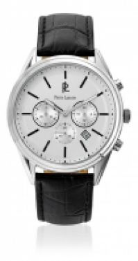 Ceas Pierre Lannier Watches Mod clasic - Stainless Steel - din piele Cuoio - 44 Mm