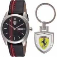 Ceas Scuderia Ferrari Mod D50 Set Orologio+portchiavi +keychain