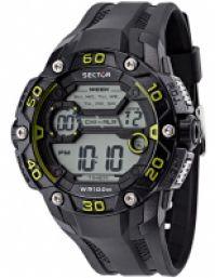 Sector Mod Ex-07 Dual-time Timer Callendar 1100 Second Chronograph 10 Atm