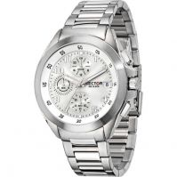 Sector Watches Mod 720 Racing - Chronograph - Stainless Steel - 44 Mm - Wr: 10 Atm
