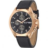 Sector Watches Mod 720 Racing - Chronograph - Stainless Steel - Pvd Rose Gold
