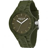 Sector Watches Mod Steeltouch - Silicon - 41 Mm - Wr: 10 Atm