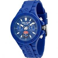 Sector Watches Mod Steeltouch - Silicon - Multi Function 41 Mm - Wr: 10 Atm
