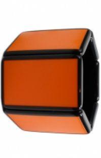 Ceas Stamps Mod Belta Paris Orange
