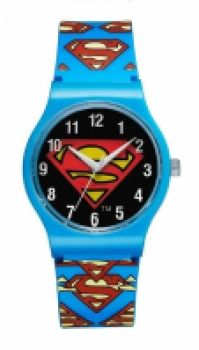 Ceas Superman Watches Mod Sm-02 - Quartz Analogue - Plastic Band And Case - Plastic Glass