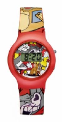 Ceas Tomjerry Watches Mod Tj-01 - Digital - Plastic Band And Case - Plastic Glass