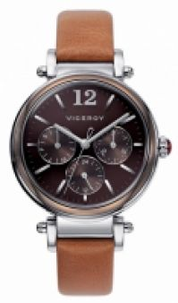 Viceroy Watches Mod Penã‰lope Cruz 471052-45 - Stainless Steel - Leathercuoio