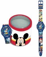 Ceas Walt Disney Kid Mod Mickey Mouse - Tin Box