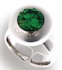Choice Jewels Mod Shade Anelloring Size 8
