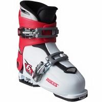 Clapari ski Roces Idea Up alb-rosu-negru 450491 15 pentru copii