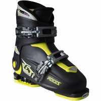 Clapari ski Roces Idea Up negru-lime 450491 18 pentru copii