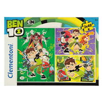 Clementoni 3 X 48 Jigsaw Puzzles