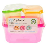 Clip Fresh 4 . Easy Containers