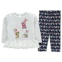 Colanti Crafted 2 Piece Top and Set pentru fete pentru Bebelusi