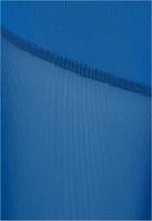 Colanti semi transparenti in partea din fata sporty-albastru Urban Classics