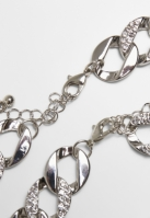 Colier Bratari Set Basic Diamond And argintiu Urban Classics