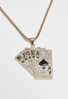 Colier Cards auriu Urban Classics