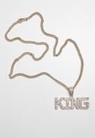 Colier King auriu Urban Classics