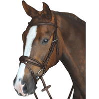 Collegiate Mono Crown cu captuseala Raised Flash Bridle