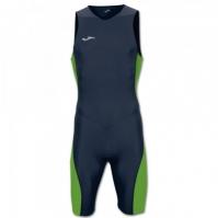 Costum body pentru triatlon Joma bleumarin-fluor verde fara maneci