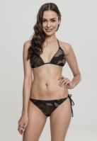 Costum de baie bikini Camo pentru Femei wood-camuflaj Urban Classics