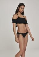 Costum de baie bikini Smoked pentru Femei negru Urban Classics