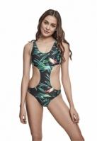 Costum de baie intreg Tropical pentru Femei leaf Urban Classics