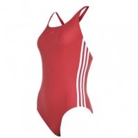 Costum de Inot adidas trei cu dungi pentru Femei