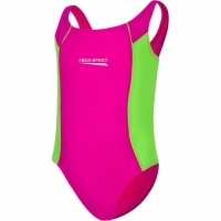 Costum de Inot Aqua Speed Luna roz-lime Col 83 copii