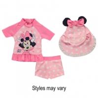 Costum inot Disney 3 Piece pentru Bebelusi