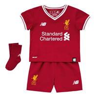 Costumase bebelusi cu echipe fotbal New Balance Liverpool 2017 2018