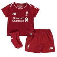 Costumase bebelusi cu echipe fotbal New Balance Liverpool 2018 2019