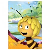 Covor Camera Copii Maya The Bee 95x133 Cm Antiderapant