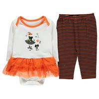 Crafted Mini Halloween Tutu pentru fete pentru Bebelusi