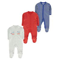 Crafted Mini trei . Sleep Suits Babies