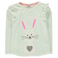 Crafted Tutu Bunny Top pentru fete pentru Bebelusi
