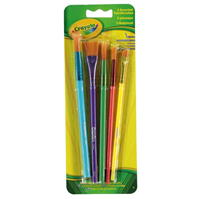 Crayola Assorted Paint Brushes . of 5
