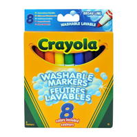 Crayola Super Wash Markers 00