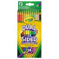 Creioane Crayola Dual Sided Coloured . of 12