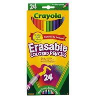 Creioane Crayola Erasable coloured . of 24