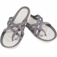 Crocs Swiftwater Webbing Flip In gri deschis 205479 OCT barbati