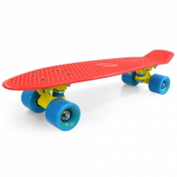 Placa skateboard SPOKEY CRUISER rosu 838898