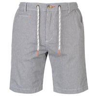Pantaloni scurti SoulCal cu dungi Chino pentru Barbati