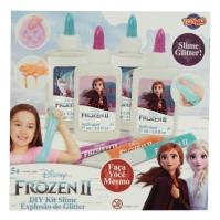 cu personaje Frozen 2 DIY Glitter Slime Kit