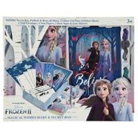cu personaje Frozen 2 Magical Wishes Diary & Secret Box