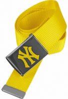 Curea material textil MLB Premium galben neon MasterDis