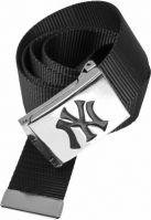 Curea material textil MLB Premium negru MasterDis