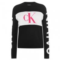 Blugi Pulovere tricotate Calvin Klein Statement Logo