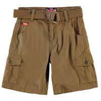 Pantaloni scurti cargo cu curea Lee Cooper pentru baietei
